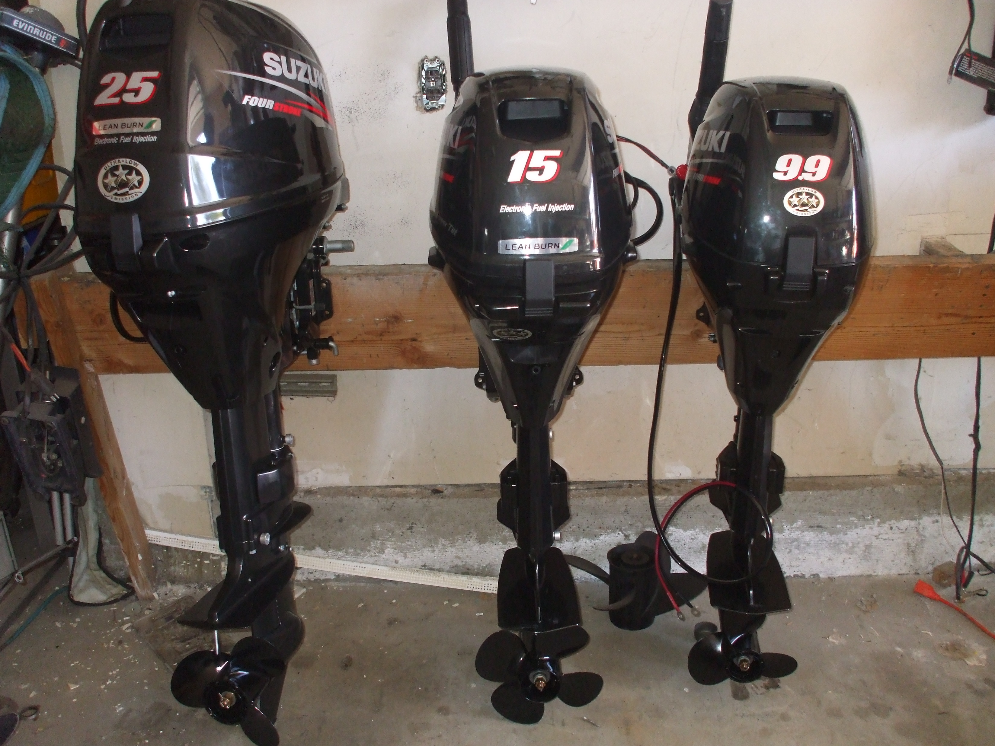 Suzuki Outboard motors 2.5-300 hp