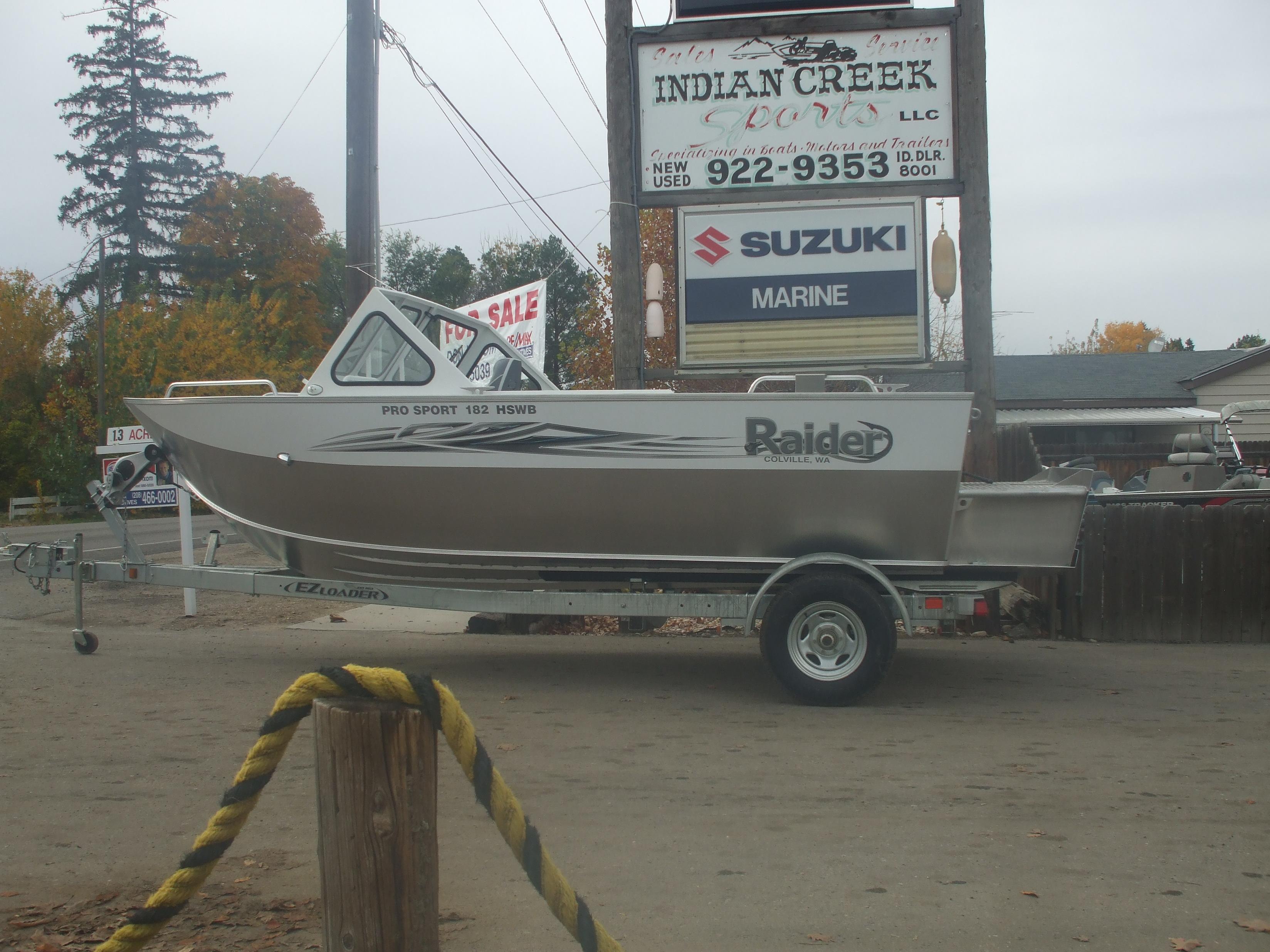2017 Pro Sport 182 Raider boat