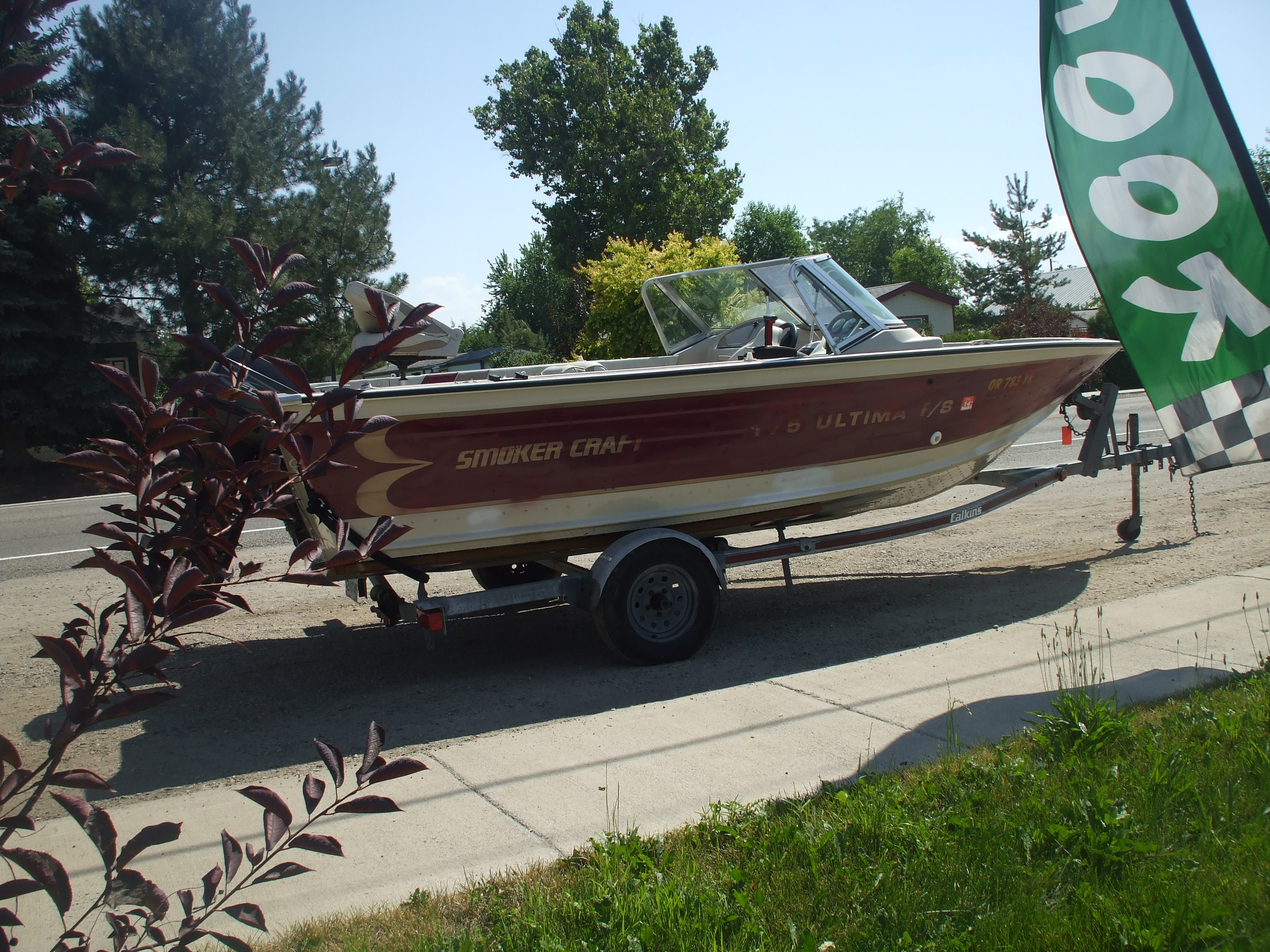 1997 Smokercraft 175 aluminum boat