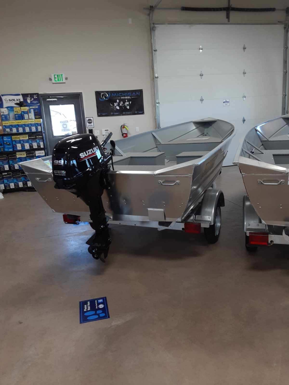 2020 Klamath 15 Adv S boat – $10,364