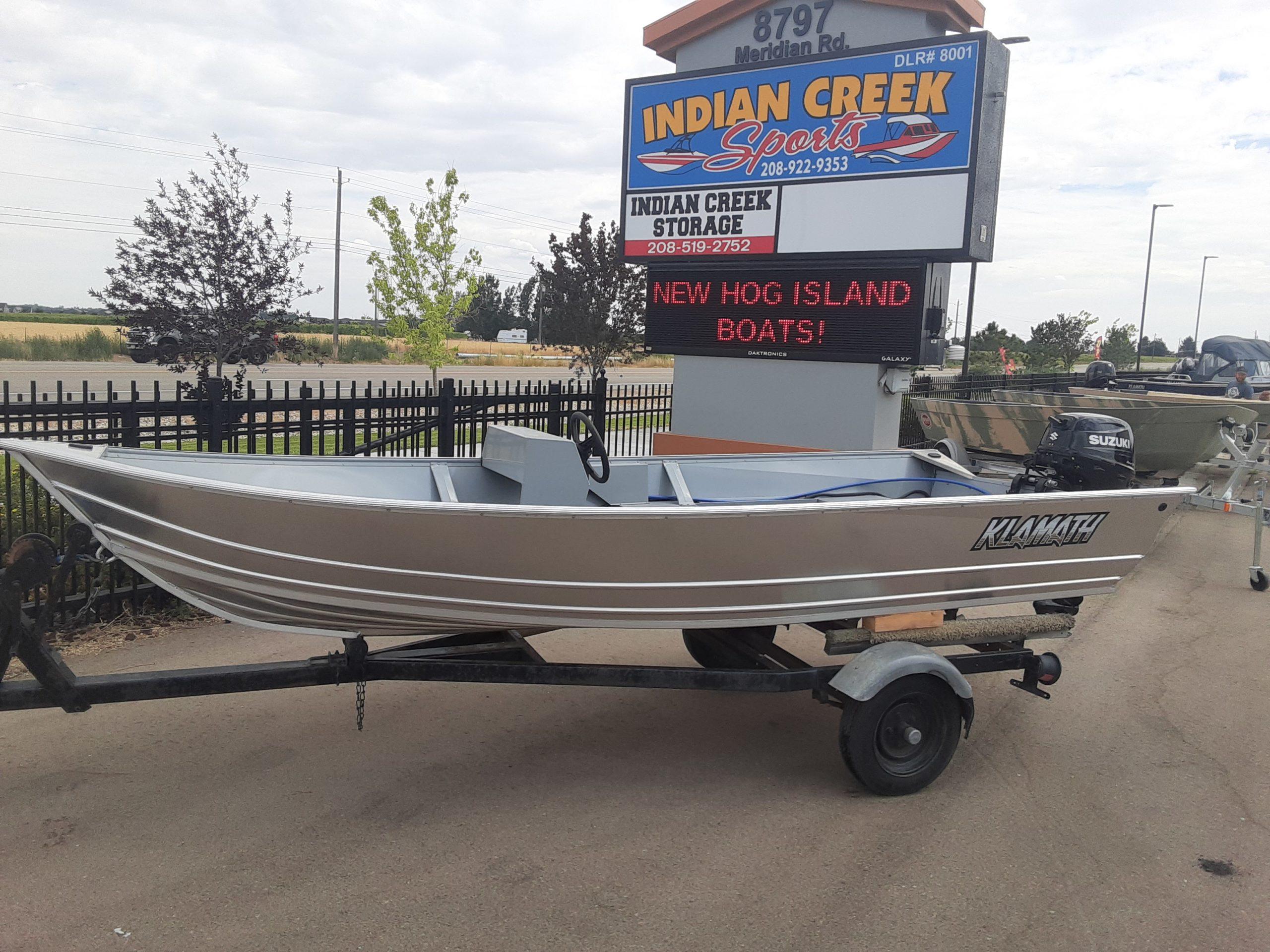 2021 Klamath Deluxe S Boat